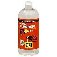 Better Life Better Life Simply Floored Floor Cleaner - 32 Fl Oz -Pack of 6 by Better Life