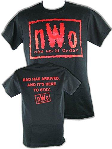 Unbekannt T-Shirt NWO Logo Rot Arrived Retro Bis 5XL !, Gr.:XXL - Nwo-t-shirt