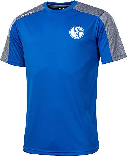Albatros Schalke 04 Funktionsshirt Freizeitshirt T-Shirt Clima PRO S04 Shirt (2XL)