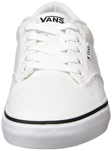 Vans Herren Mn Winston Sneakers Weiß (nero Foxing Bianco / Bianco)