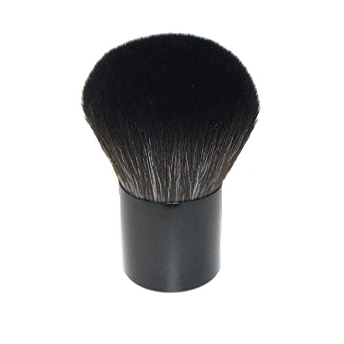 Demarkt Foundation Pinsel Kabuki Pinsel Bürste Foundation Puderpinsel Make up Werkzeug Schwarz B
