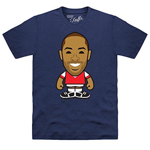 Official TOFFS - Highbury Legend 2T-Shirt, Herren Dunkelblau