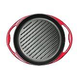 DDHZTA Ispessito ghisa di Ferro-la Bistecca di frittura di bistecche di Padella Antiaderente Padella Smalto Pan a induzione Gas Universale
