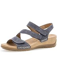 Gabor Jollys Sandalette in Übergrößen Braun 83.734.13 große Damenschuhe 66aeba71a5