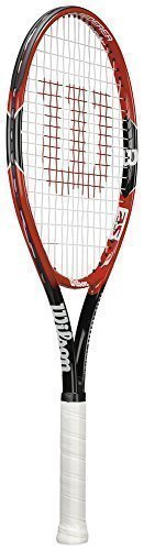 Wilson Schläger Sport Anfänger Level Spieler Federer Junior Tennisschläger - Mehrfarbig, Mehrfarbig, 25