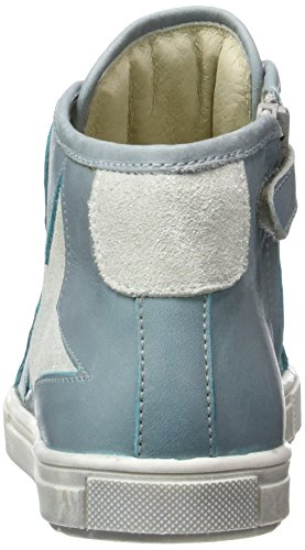Lepi 3096LEQ, Sneaker alta bambina Blau (3096 C.21 Celeste)