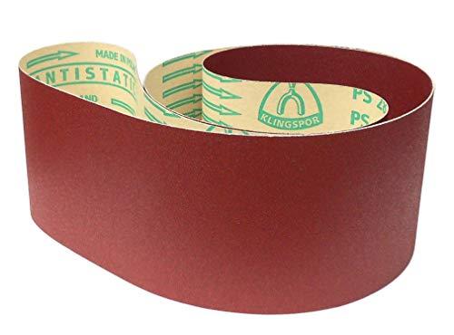 Klingspor PS 28 F Schleifband | 150 x 2500 mm | 5 Stück | Körnung: P60