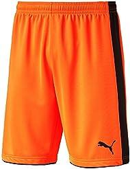 Puma Tournament GK–Pantalones cortos Fluro Naranja, 8 años (128 cm)