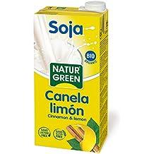 NaturGreen Bebida de Soja Canela y Limón - 1L