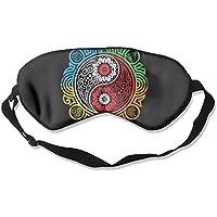 Yin Yang Flower Art Sleep Eyes Masks - Comfortable Sleeping Mask Eye Cover For Travelling Night Noon Nap Mediation... preisvergleich bei billige-tabletten.eu