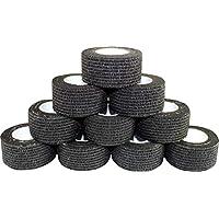 Kohäsive Pflaster selbstklebend Fixierbinde Haftbinde Farbe: schwarz (Größe: 2,5 cm x 4 m, 60 Stück) Medi-Inn preisvergleich bei billige-tabletten.eu