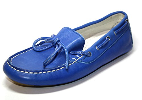 Cherie Schuhe Mädchen Slipper & Mokassins 1506 (ohne Karton) Blau