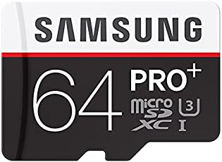 Samsung Pro Plus 64GB MicroSDXC Memory Card - 95MB/s Read, 90MB/s Write