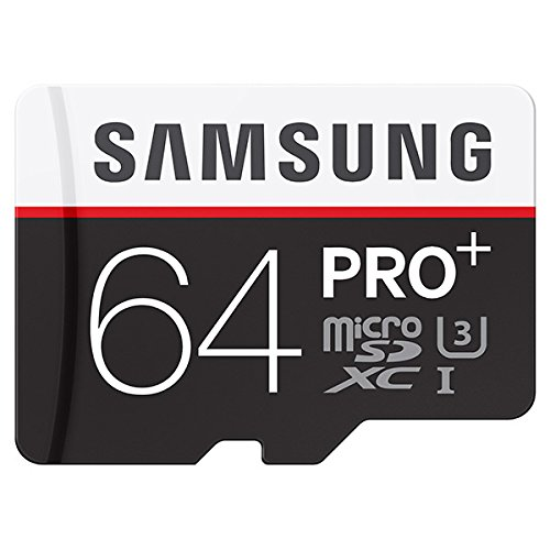 Samsung Pro Plus 64GB MicroSDXC Memory Card - 95MB/s Read, 90MB/s Write