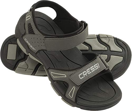Cressi Sandali Sport Acquatici, Nero/Blu, 48