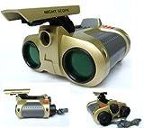 DUSIEC 4x30mm Day Pop-up Night Vision Night Scope Binoculars Telescope,Best Gift for Child