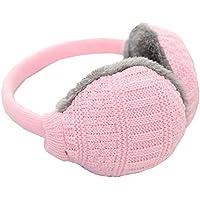 Unisex Winter Warm Einstellbare Strickpelz Plüsch Ohrenschützer Warmers (Pink) preisvergleich bei billige-tabletten.eu