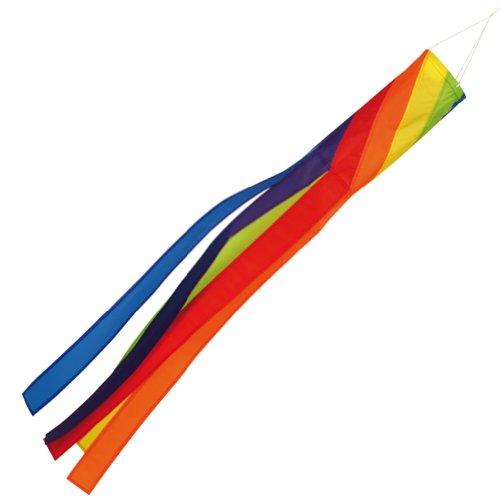 Spirale arc-en-ciel 40 pouces/15–inch pour manche à air télescopique pour drapeau pôles