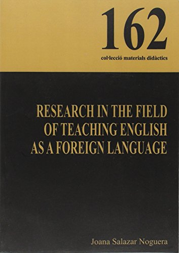Research in the field of teaching english as a foreign language (Materials Didàctics)