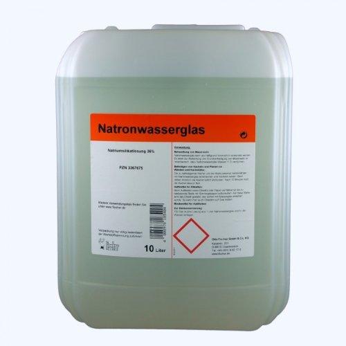 Natronwasserglas techn. 10 L
