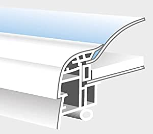 ETF essertop 4000 LK WD 150x250cm opal/PVC weiß