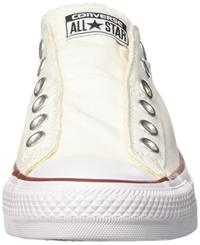 Converse Ct As Slip, Sneakers Mixte Adulte Blanc (Optical White)