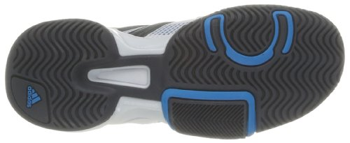 adidas Performance Barricade Team 3 XJ D65992 Unisex-Kinder Laufschuhe Weiß (Running White Ftw / Night Shade F13 / Solar Blue S14 D65992)