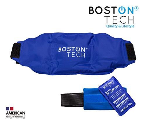 Boston Tech MA-101 Boston Pak - 2 bolsas de gel para frio y calor. Re-utilizables, 1 con cinturón universal...