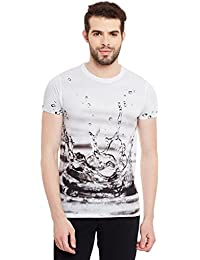 Wear Your Mind Multicolour Polyester Printed Tshirt For Men CST203.2