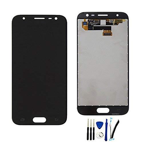 Completa Pantalla Táctil LCD de Digitalización Asamblea Pantalla de Recambio para Galaxy J3 Pro 2017 DUOS J330 SM-J330 J330G J330F J330DS Negro