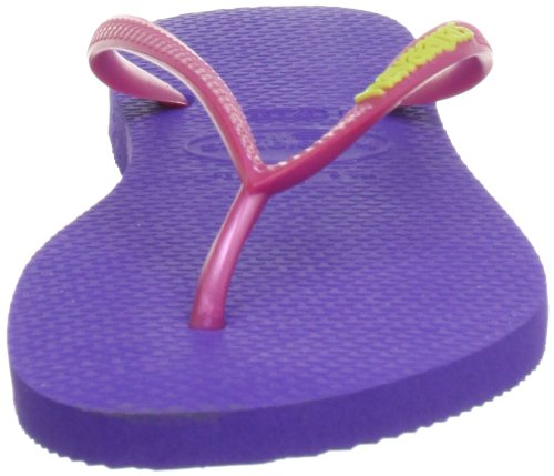 Havaianas  Slim Logo, Sandales pour femme Violet