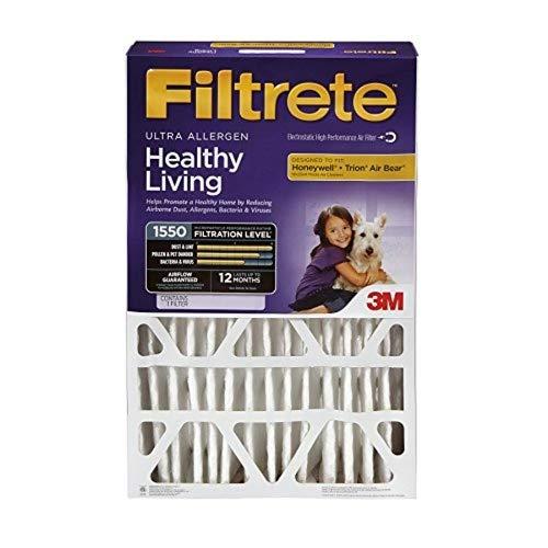 Filtrete 1550Allergen Reduktion Filter-16x 25x 4 -