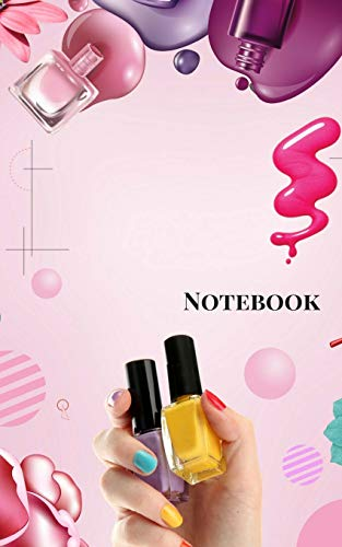 Notebook: Makeup Small Composition Book, Journal, Cute Notebooks, Cool Notebooks, School Books (Small 5 x 8), College Ruled ()
