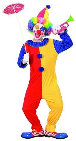 Widmann 02577 - Kinderkostüm Clown Größe 140 (Amazon Halloween-kostüme Für Kinder)
