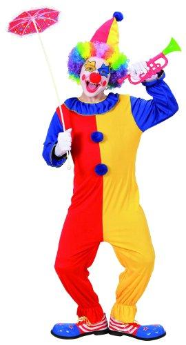 WIDMANN - Costume Clown, in Taglia 8/10 Anni