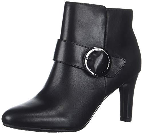 Bandolino Frauen Lanaro Pumps rund Leder Fashion Stiefel Schwarz Groesse 11 US /42 EU -