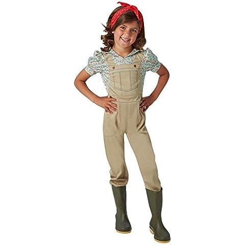 WW2 Terra Girl - Bambini Costume -