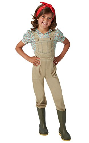 WW2Land Girl Kostüm Mädchen klein ()