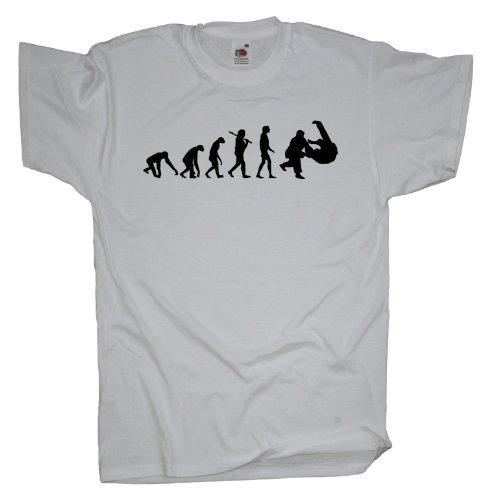 Ma2ca - Evolution - Judo Ringer T-Shirt White