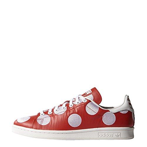 adidas, Sneaker uomo Bianco white white white 100 7 UK / 41 EU / 8 US RED/RED/FTWWHT B25399