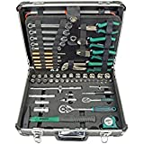 Brüder Mannesmann Werkzeuge 160-teilig Werkzeugkoffer, 1 Stück, M29078