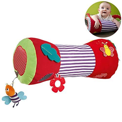 *Schimer Baby kriechende Rolle Baby weich angefülltes Rollenkissen Baby-Eignungs-Spielzeug*