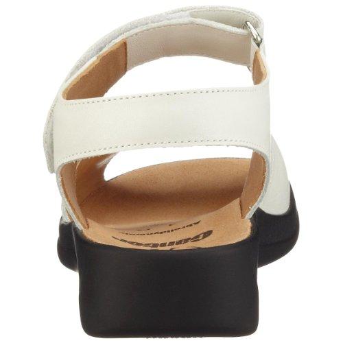 Ganter MONICA 9-202591, Damen Sandalen/Outdoor-Sandalen, Weite G weiß (weiß0200)