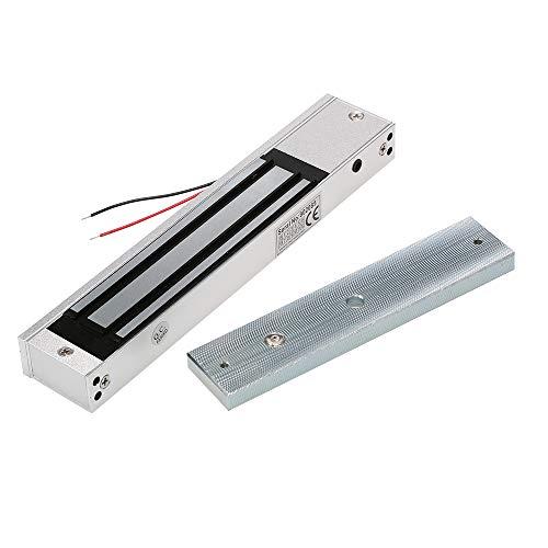 OWSOO Magnetschloss Elektrische 320KG 700lbs Haltekraft für Tür Zutrittskontrollsystem Access Control System Elektromagneten Fail-Safe NC Modus -