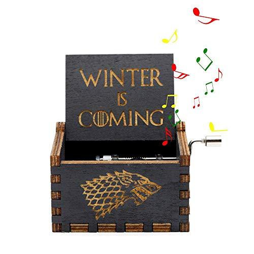 """Mano Pura Juego de Tronos clásico Caja de música Mano Caja de música de Madera artesanía de Madera Creativa Mejores Regalos """"Game of Thrones"""""""