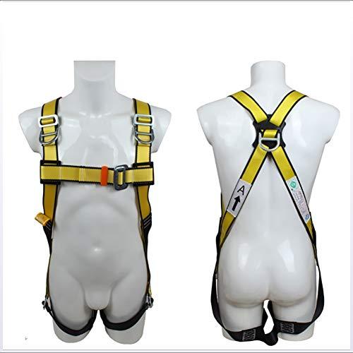Zlqf kit di protezione anticaduta arrampicata all'aperto regolabile rappelling alpinismo cintura dicsicurezza attrezzature