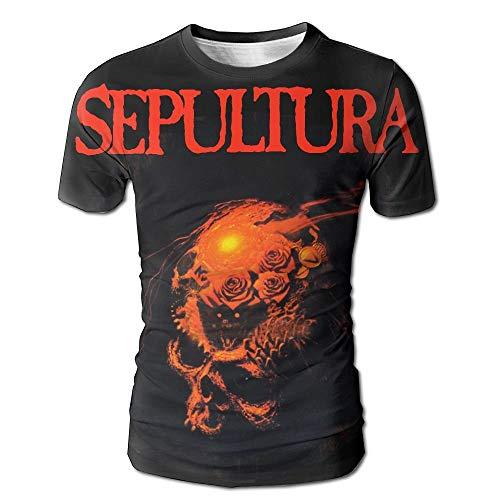 Sepultura Beneath The Remains Men's 3D All Print Short Sleeve Tshirt M -