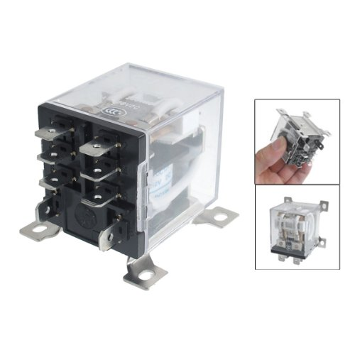 REFURBISHHOUSE JQX-12F 2Z DC 12V 30A DPDT General Purpose Power Relay 8 Pin