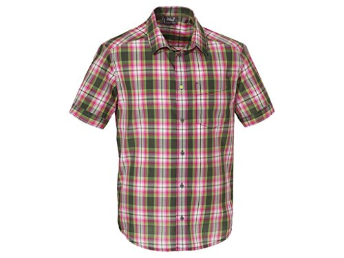 Jack Wolfskin FAIRFORD SHIRT MEN olive drab checks -