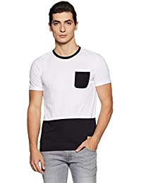 United Colors of Benetton Men's Solid Regular Fit T-Shirt